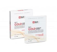 Коллагеновая маска моментального действия с коллоидным золотом /BIO Gold Collagen Mask/ Tete 1 упаковка ( 4 саше )