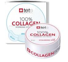 Коллагеновый патчи под глаза/100% collagen hydrogel eye patch