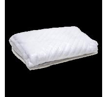 Коврик махровый белый (ножки) 50х70 см