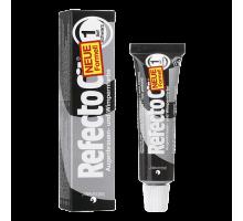 Краска для бровей и ресниц Refectocil №1 Черный 15 мл