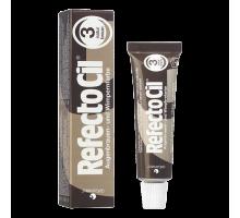 Краска для бровей и ресниц Refectocil № 3 Коричневый 15 мл