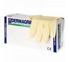 Перчатки латексные Dermagrip cllassic смотровые нестерильные M