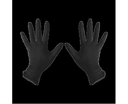 Перчатки нитриловые M Черный 100 шт/уп