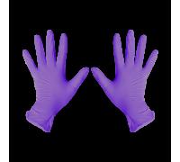 Перчатки нитриловые M Фиолетовый 200 шт/уп