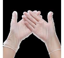 Перчатки винил Эконом L неопудренные 100 шт/уп 1-Touch