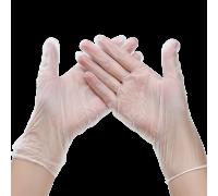 Перчатки винил Эконом M неопудренные 100 шт/уп 1-Touch