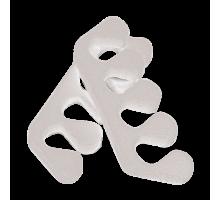 Разделители для пальцев 8 мм Пенопропилен 20 пар/уп Белые