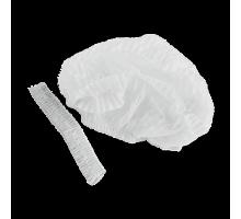 Шапочка-Шарлотка-Спанбонд Белый 100 шт/уп