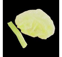 Шапочка-Шарлотка Спанбонд Желтый 100 шт/уп