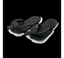 Тапочки &quot-вьетнамки&quot- Пенопропилен стандарт Черный 5 мм 25 пар/уп