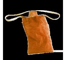 Трусы женские бикини Спанбонд Оранжевый 25 шт/уп поштучно