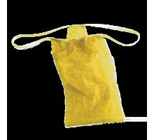 Трусы женские бикини Спанбонд Желтый 25 шт/уп поштучно