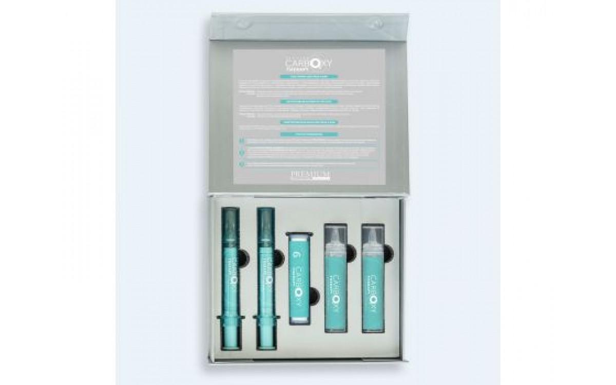 Набор «Peeling carboxy therapy» для лица и шеи PREMIUM